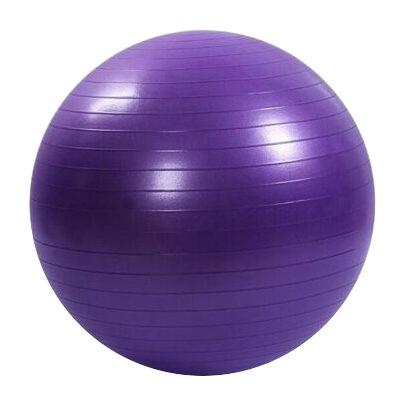 Vingrošanas bumba 55 cm, violeta